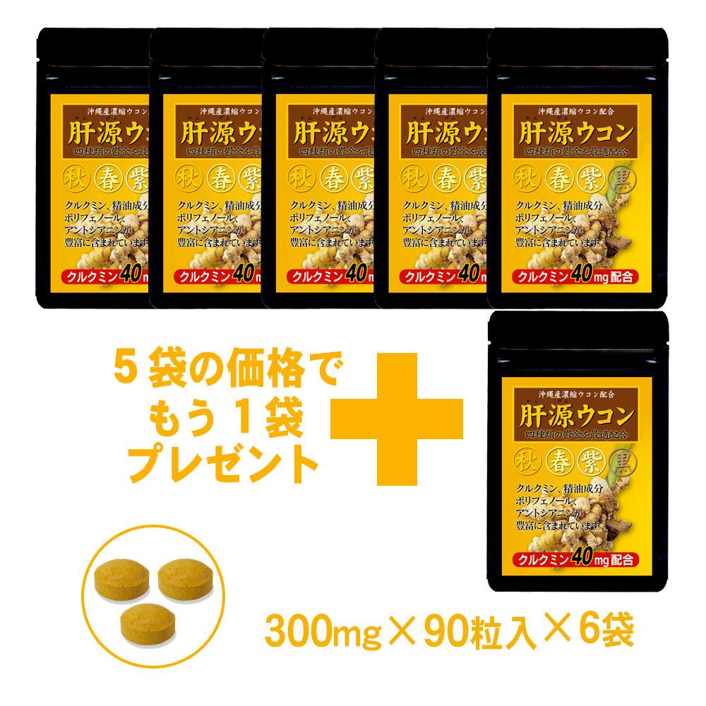 自然力 肝源ウコン 5+1袋